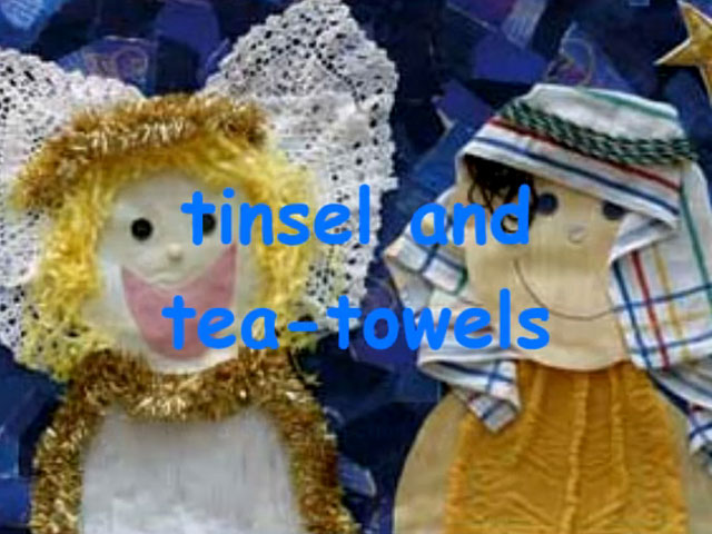 Image result for tinsel and tea towels