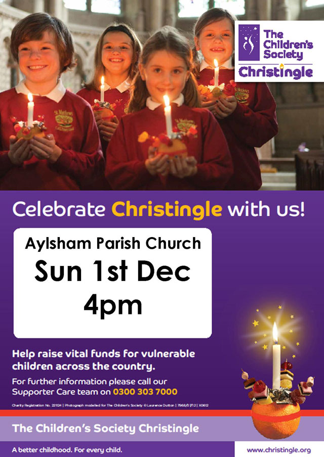 Christingle Sunday 1st December 2013