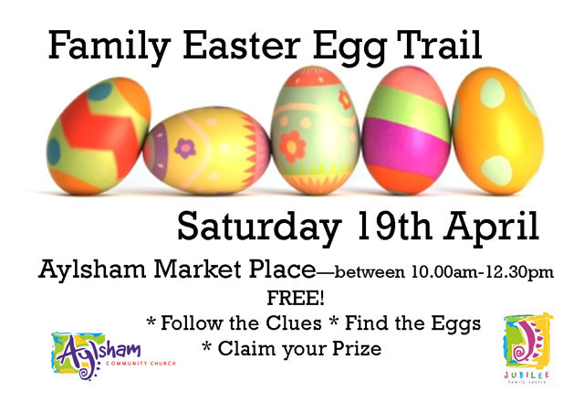 Family Easter Egg Trail - Saturday 19th April 2014