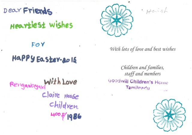 Easter card message from clare house 2015 bure valley school easter card message from clare house 2015 m4hsunfo