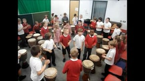 Year 3 Drumming Lesson