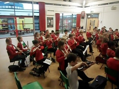 BVS Yr6 Orchestra's Christmas Mannequin Challenge
