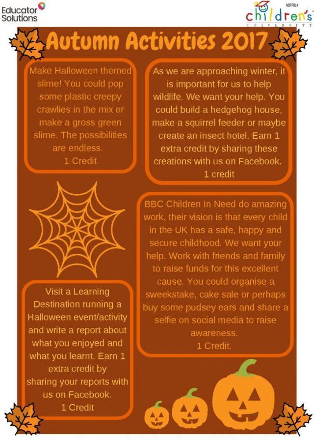 thumbnail of Autumn Activity Sheet