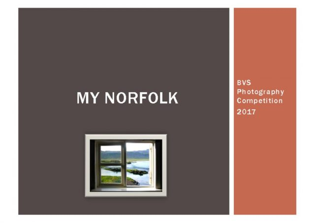 thumbnail of My Norfolk – BVS Photography Comp 2017