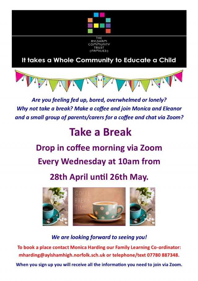 Coffee Morning Up To May Half Term